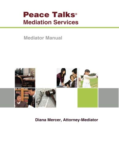 Mediator Manual por Diana Mercer