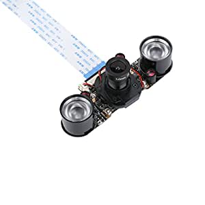 Raspberry Pi Camera IR-CUT Night Vision Camera Module for Raspberry Pi 3 RPI 2 Better Image in Both Day and Night