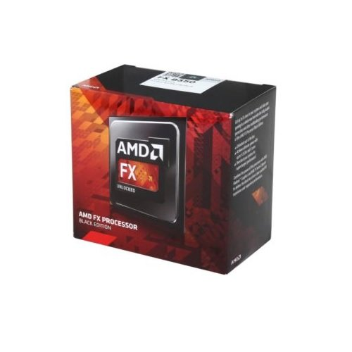 AMD FX-6350 6 Core CPU 3,9 GHZ (Turbo Boost: 4,2 GHZ),Heat Sink Fan