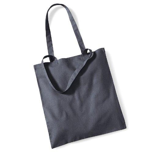 Westford Mill Promo Bag for Life, Baumwolle, Schultertasche, Shopper, Handtasche, One Size Gelb - Gelb
