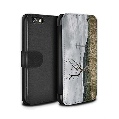 Stuff4 Coque/Etui/Housse Cuir PU Case/Cover pour Apple iPhone 5/5S / Pack 29pcs Design / Imaginer Collection Arbre Électrique