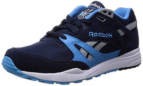 Reebok Ventilator Pop, Baskets Basses Homme Bleu (Faux Indigo/Calfornia Blue/Baseball Grey/White)