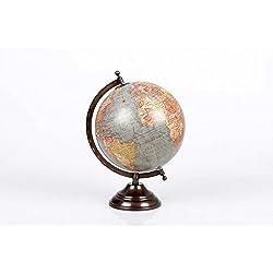 dcasa - Bola del mundo Globo terráqueo (diámetro de 20cm)