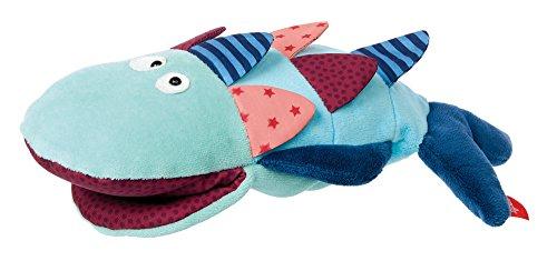 sigikid, Mädchen und Jungen, Handpuppe Fisch, Blau, 41466