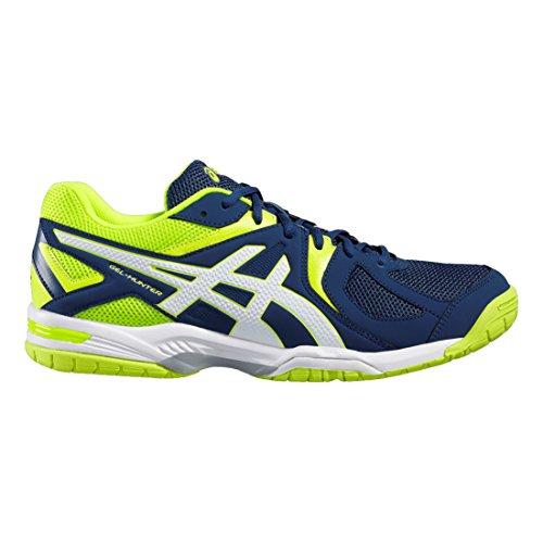 ASICS Gel-Hunter 3 Chaussures de Badminton Homme, Bleu...