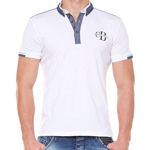 Cipo & Baxx Herren T-Shirt Weiß