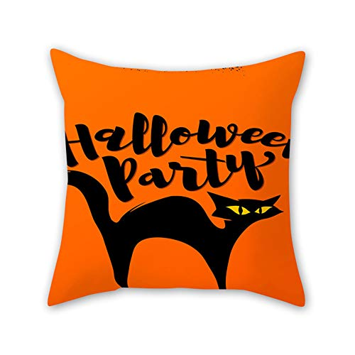 Gruseligsten Halloween Ideen - Domeilleur Halloween Weihnachten Kissenbezug 45x45cm