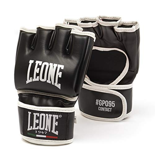 Leone 1947 Contact, Guanti da MMA Unisex – Adulto, Nero, XL