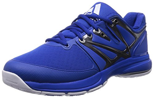adidasStabil4Ever - Scarpe multisport per interno Uomo Azul - Bleu (Blue/Iron Metallic/Collegiate Royal)