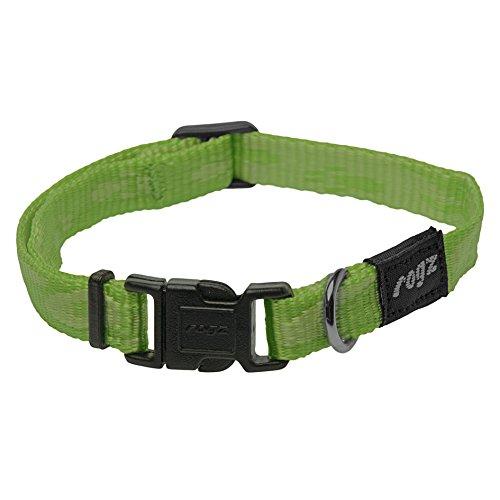 Rogz Alpinist Seitenverschluss einstellbares Hundehalsband (Medium) (Grün) -