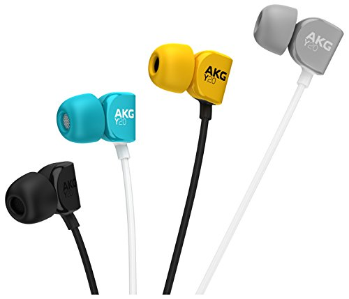 AKG Signature Y20UTEL in-Ear Stereo Headphone with Mic (Teal) Image 8