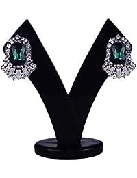 Pearl Studs Earrings For Women / Rhinestone Studded Stud Earrings For Girls And Women