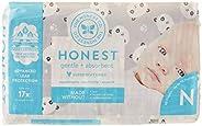 The Honest Company - Milieuvriendelijke en Premium wegwerpluiers - Panda's, Pasgeboren grootte (<4,5 kg