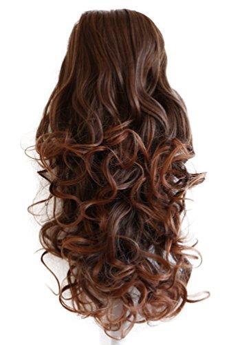 PRETTYSHOP 55cm Haarteil hairpiece Zopf Pferdeschwanz Haarverdichtung VOLUMINÖS PH12_4T30