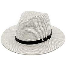 Screenes Cappello di Paglia da Cappello Floscio Estivo Donna E da Stile  Semplice Uomo Cappello di 797116197596