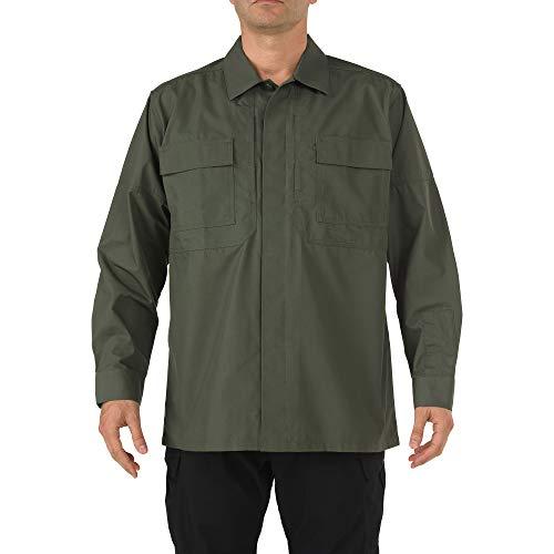 5.11Tactical # 72002Ripstop TDU Long Sleeve Shirt Größe L TDU Green -