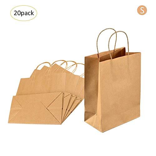 Bolsa de papel reciclado 20pcs