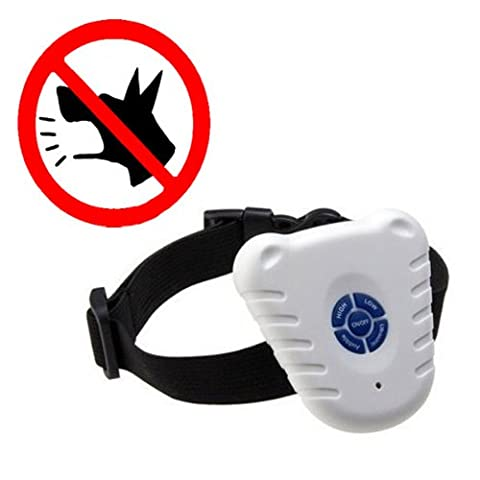 Safe Ultrasonic Dog Pet Stop Barking Anti Bark Training Control Collar