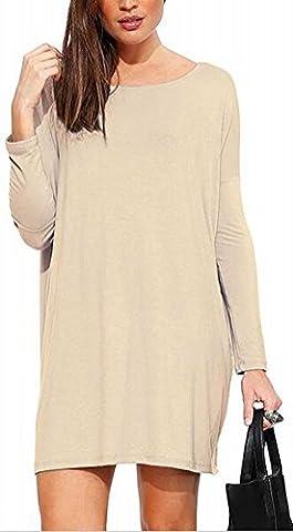 SunIfSnow - Robe - Body chemise - Uni - Manches