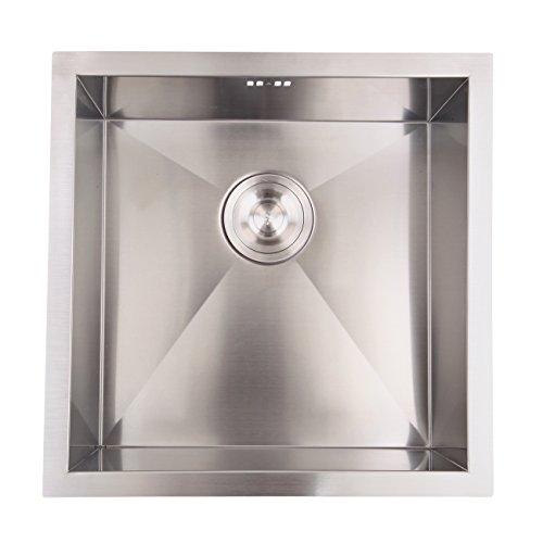 XuanYue Lavello Da Cucina In Acciaio Inossidabile Lavandino Quadrato Lavello da cucina 45 x 45