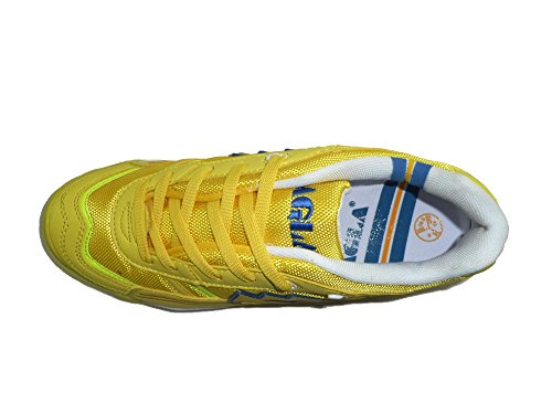 AGLA , Chaussures pour homme spécial foot en salle Jaune jaune 27.5 Jaune