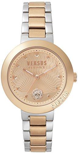 Versus Versace Orologio Analogueico Quarzo Donna con Cinturino in Acciaio Inox VSP370617