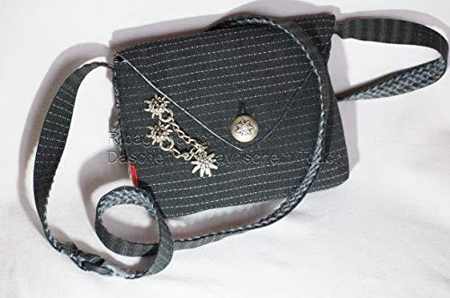 R.bag Dirndltasche Trachtentasche Damen Einzelstück Umhängetasche mit Klappe Schultertasche Handtasche Unikat