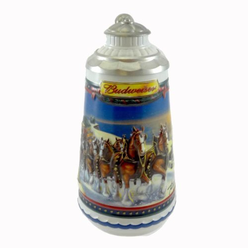 anheuser-busch-guiding-the-way-home-stein-cs529se-christmas-budweiser-bud-2002-new-by-unknown