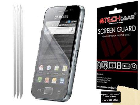Techgear Lot de 3 films protecteurs pour écran pour Samsung