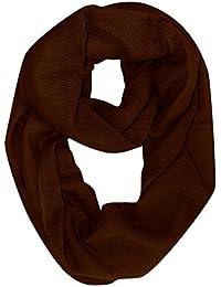 Peach Couture     uomo-donna Warm 100% Cashmere Infinity Loop sciarpe Wraps a4cfe082f99