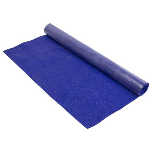 Base antideslizante protector de fieltro para alfombras moquetas esterillas, azul oscuro, aprox. 137 x 122 cm