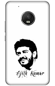 iessential thala Designer Printed Back Case Cover for Moto G5 Plus