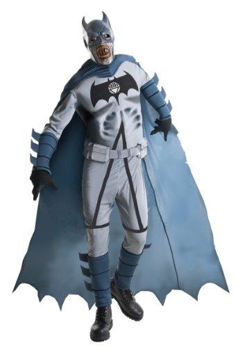 ie Batman Halloween Deluxe-Kostüm grau-schwarz M ()