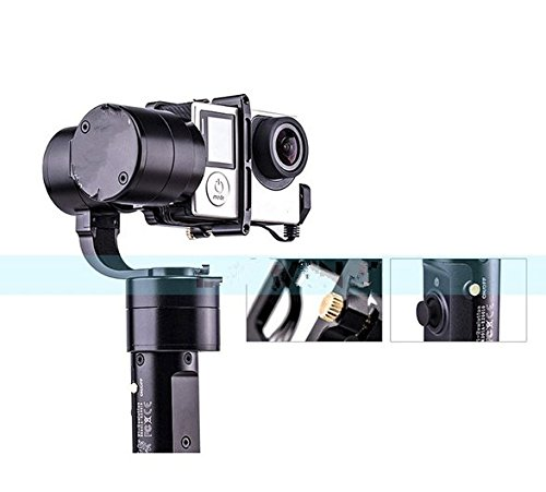 Preisvergleich Produktbild Gowe 3-Achsen-Handheld Stabilisator Brushless Gimbal für Hero 43+ 32SJ4000sj5000Kameras