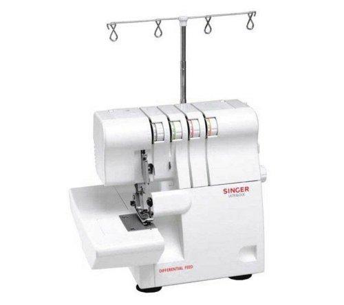 Singer 14SH654 - Máquina de coser remalladora, color blanco