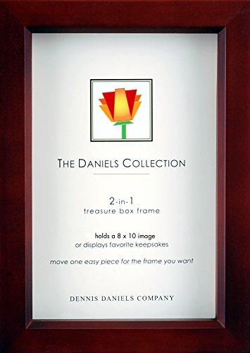 Dennis Daniels Holz Treasure Box Bilderrahmen, 20,3x 25,4cm, Nussbaum dunkel - Dunkle Braune Farbe Finish