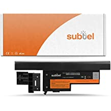subtel® Batería premium (4400mAh) para IBM ThinkPad X60 / X60s / Lenovo ThinkPad X61 / X61s bateria de repuesto, pila reemplazo, sustitución