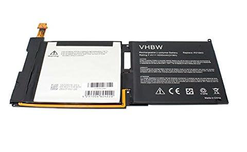 vhbw Akku 4200mAh (7.4V) für Tablet, Pad, Netbook Microsoft Surface 2 RT2 wie Papio, GB-S20-3096AS-0100.