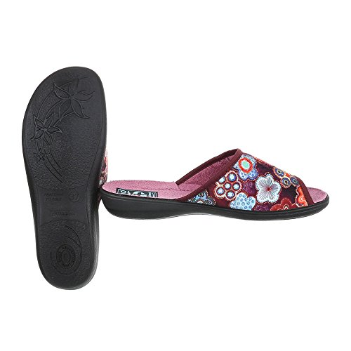 Italdesign Femme Chaussons Pantoufles Mode Plat Baskets Chaussures fxTqYHx