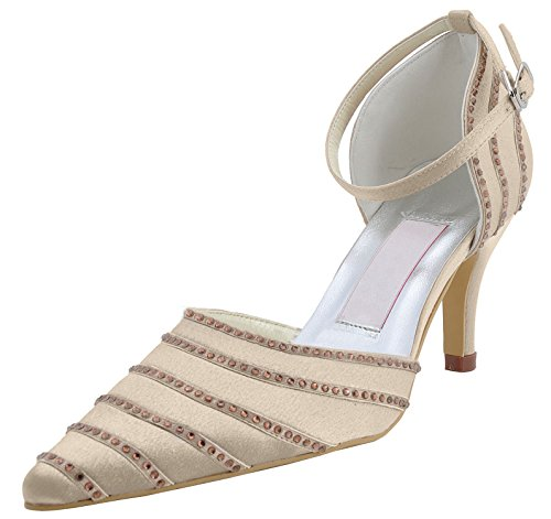 Kevin Fashion , Chaussures de mariage tendance femme Champagne