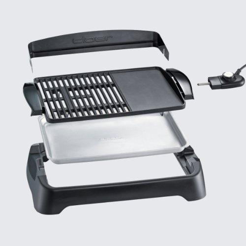 Cloer Plancha/Grill BBQ 5,0kl