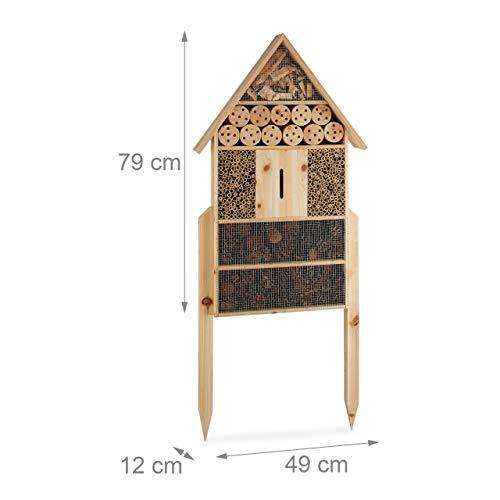 Insektenhaus XXL zum Hinstellen - 4