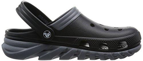 Crocs Duet Sport Max, Sabots - Mixte adulte Noir (Black/Charcoal)