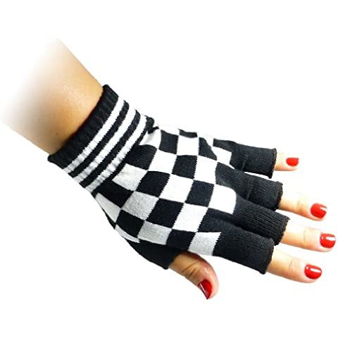 Jtc Belt Unisex, metà dito elastico Guanti senza dita, taglia unica (diversi colori disponibili)