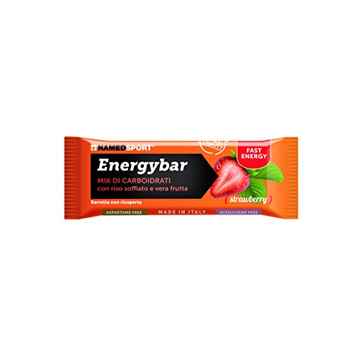 NamedSport Energybar box da 12x35g. Gusto Strawberry - 41hgncserZL