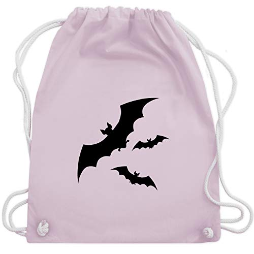 Halloween - Fledermäuse - Unisize - Pastell Rosa - WM110 - Turnbeutel & Gym ()