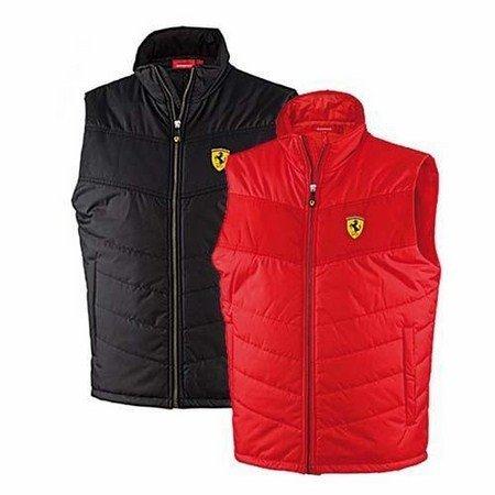 ferrari-veste-padded-s-rouge