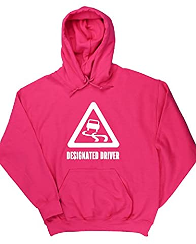 HippoWarehouse Designated Driver unisex Hoodie hooded top (Specific size guide in description)