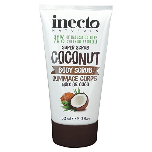 2-pack-inecto-naturals-coconut-body-scrub-150ml-2-pack-super-saver-save-money-by-godrej