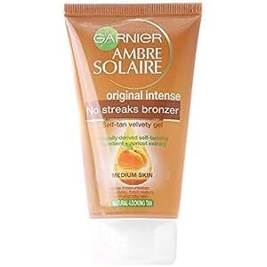 Garnier Ambre Solaire Original Intense No Streaks Bronzer Self-Tan Velvety Gel 150 ml